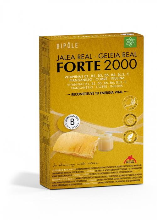 Bipôle JELLY FORTE 2000 - 20 VIALS 15 ML